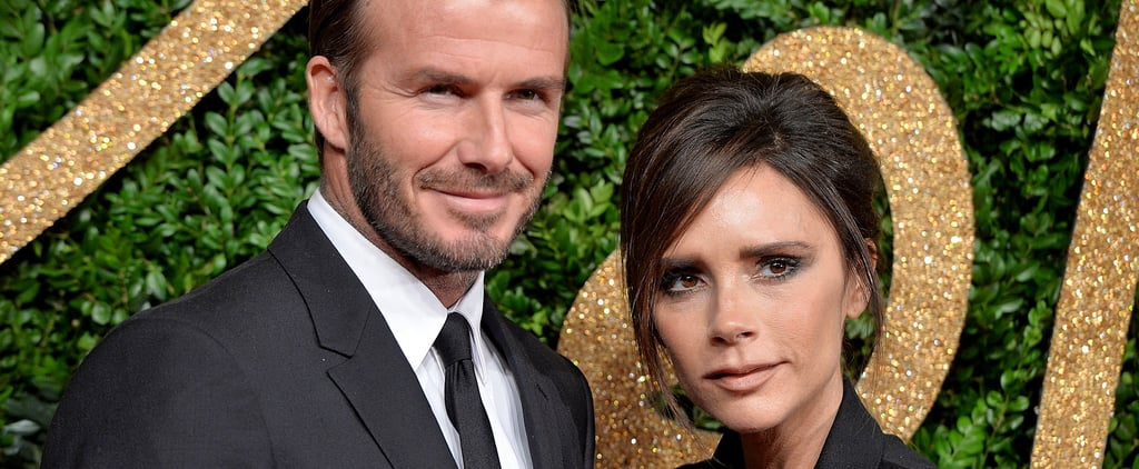 Victoria Beckham Getting Her Kids to Pose For Christmas Card