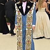 Jared Leto at the 2018 Met Gala
