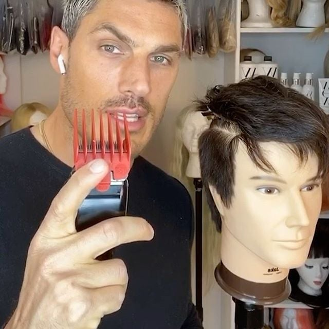 Hairstylist S Tips For Cutting Men S Hair At Home Popsugar Beauty