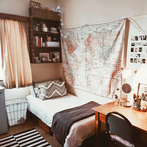 Dorm Room Ideas and Inspiration 2019