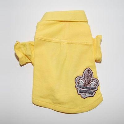 Juicy Couture Cotton Pique Polo Lemon ($40)