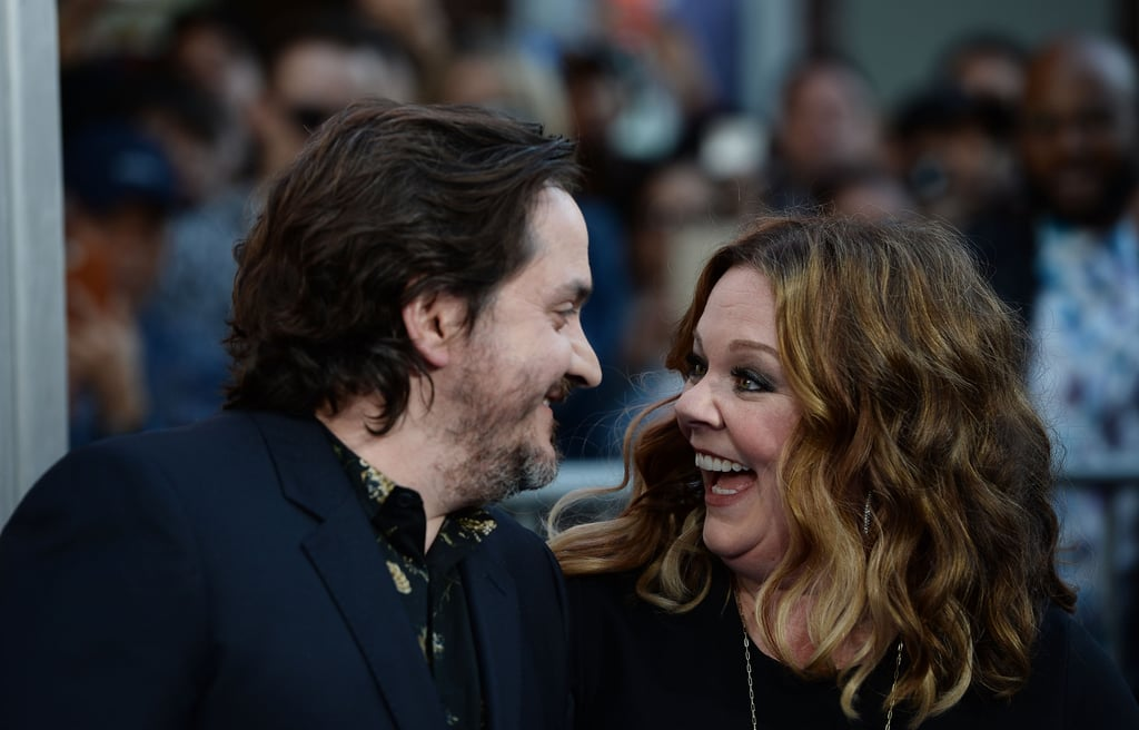 You may know Melissa McCarthy and Ben Falcone for their hilarious onscreen moments, like the semi-awkward yet chuckle-worthy sex scene that played during the ending credits of Bridesmaids (you know, the one that involved a gigantic sandwich). Oh, and let's not forget the time Ben made a cameo in The Heat for a quick bar makeout session with Melissa's character, Shannon Mullins. But there's way more to Ben and Melissa than what's been captured for the movies. The dynamic duo met during improv school in 1998 and tied the knot in 2005. Since then, they've welcomed two daughters into the world and have enjoyed an 11-year marriage that we have to imagine has been filled with plenty of laughs. Read on to witness the sweet evolution of their relationship.      Related:                                                                                                           19 Funny Couples Who Know That Nothing's Sexier Than a Sense of Humor