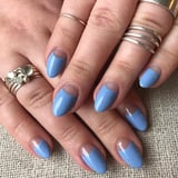 Blue Moon  Nail Art Is Like a Modern French Manicure, and It ll Be Everywhere This Spring