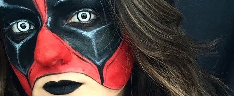 Deadpool Halloween Makeup