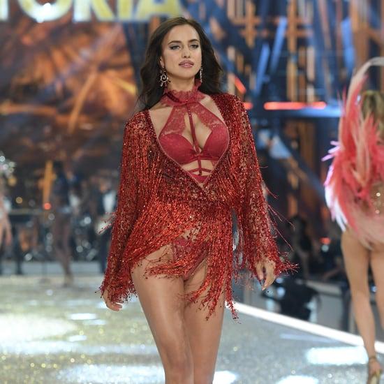 Irina Shayk Pregnant at the Victoria's Secret Fashion Show