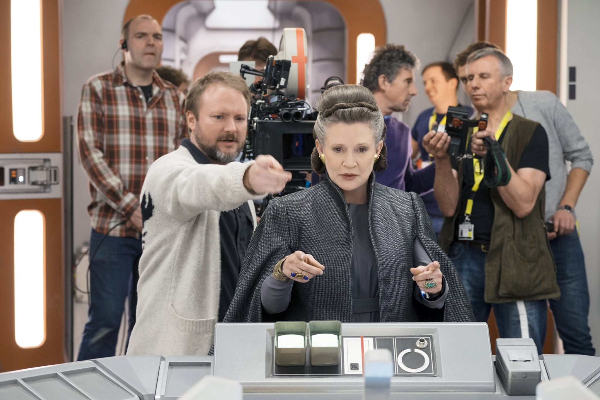 Carrie Fisher wrote some of 'Star Wars: The Last Jedi