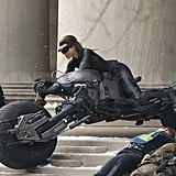 First Pictures of the Hot New Catwoman Catsuit on The Dark Knight Rises Set!