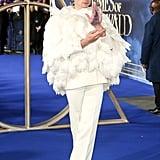 Ezra Miller at Fantastic Beasts 2 London Premiere 2018