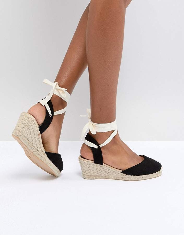 3f319717639 London Rebel Espadrille Wedge Shoes