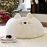 Cat Faux-Fur Beanbag