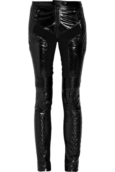 Burberry Prorsum Glossed-Leather Moto Pants ($1,197)