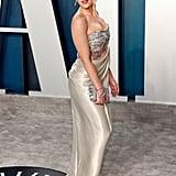 Scarlett Johansson at the Vanity Fair Oscars Afterparty 2020