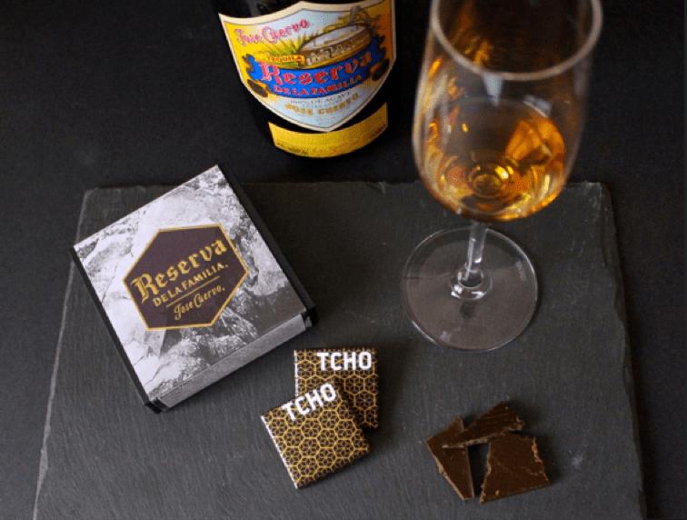 TCHO x Reserva de la Familia Dark Chocolate Set