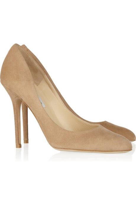 This is a staple pair of heels that'll wear easily from Spring back to Fall.  Jimmy Choo Lovely Suede Pumps ($550)