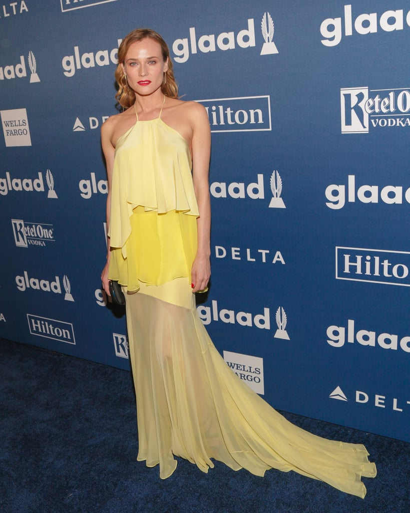 Diane Kruger at the 27th Annual GLAAD Media Awards