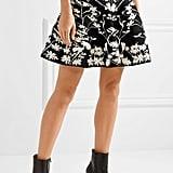 Alexander McQueen Jacquard-Knit Skirt