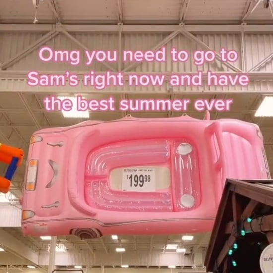 Sam's Club Is Selling a Huge Pink Convertible Pool Float