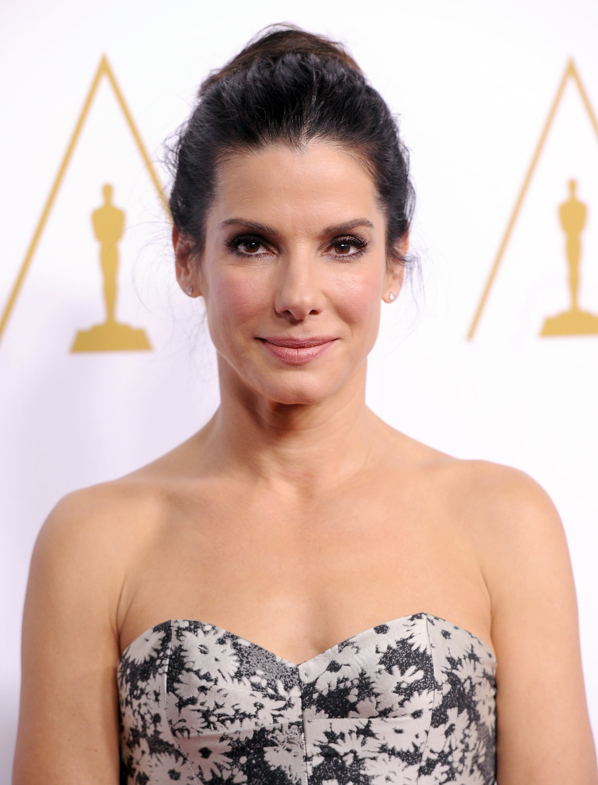 Sandra Bullock showed up at the star-studded event.
