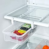 Smart Design Refrigerator Pull Out Bin & Home Organizer