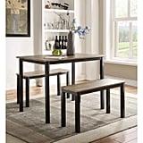 4D Concepts Boltzero 3-Piece Dining Table Set
