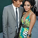 And showed love for his girlfriend at the time, Vanessa Hudgens.