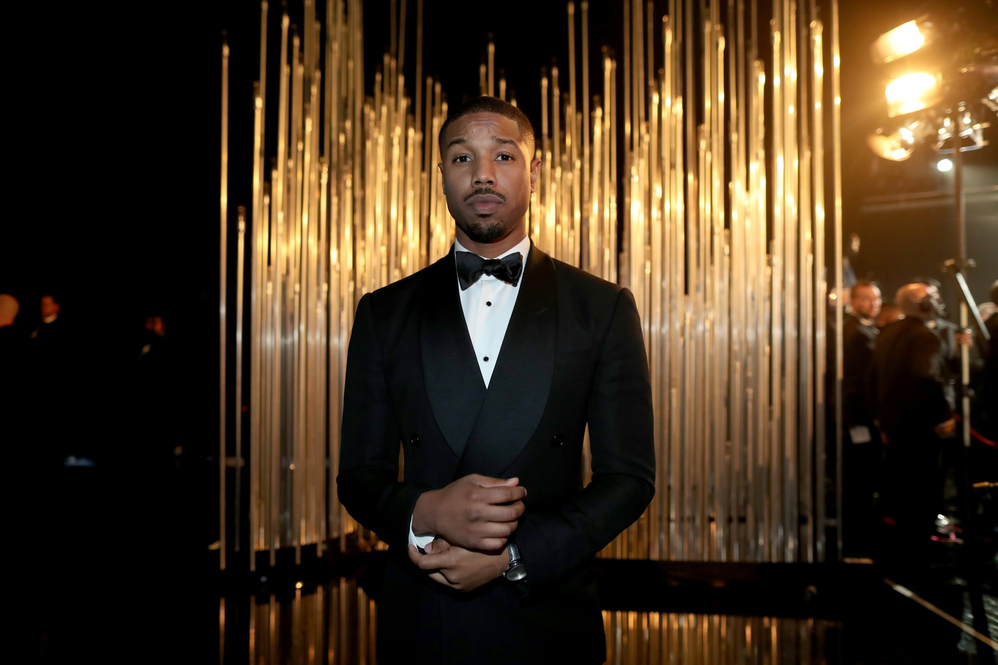 HOLLYWOOD, CA - FEBRUARY 28:  Actor Michael B. Jordan attends the 88th Annual Academy Awards at Dolby Theatre on February 28, 2016 in Hollywood, California.  (Photo by Christopher Polk/Getty Images)