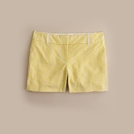 "J. Crew Seersucker Shorts, $60    Pair with:    <iframe src=""http://widget.shopstyle.com/widget?pid=uid5121-1693761-41&look=3445498&width=3&height=3&layouttype=0&border=0&footer=0"" frameborder=""0"" height=""244"" scrolling=""no"" width=""286""></iframe>"