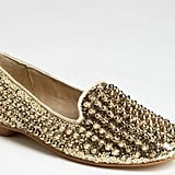 If you happen to work in a more trendsetting environment, a bold studded loafer will prove a talking point and a serious shoe statement. Steve Madden Studlyy Loafer ($100)