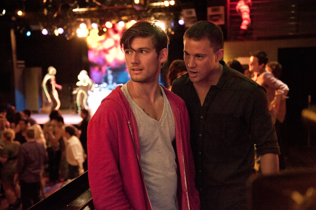 Alex Pettyfer and Channing Tatum in Magic Mike.