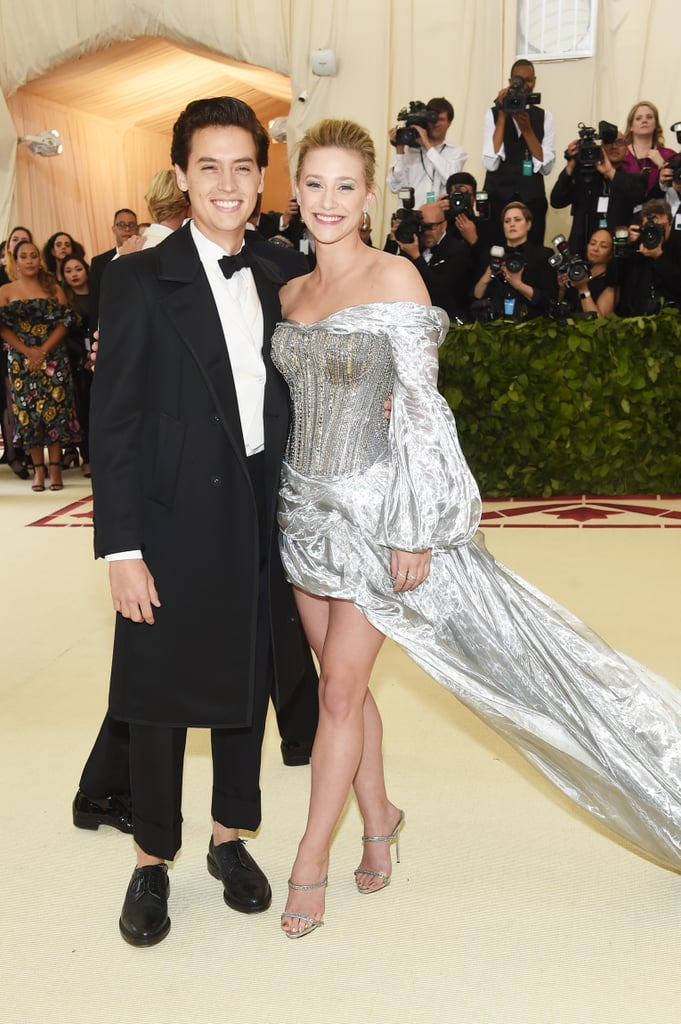 Cole Sprouse and Lili Reinhart at the 2018 Met Gala