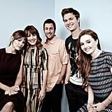 The Men, Women & Children cast took a happy snap together.