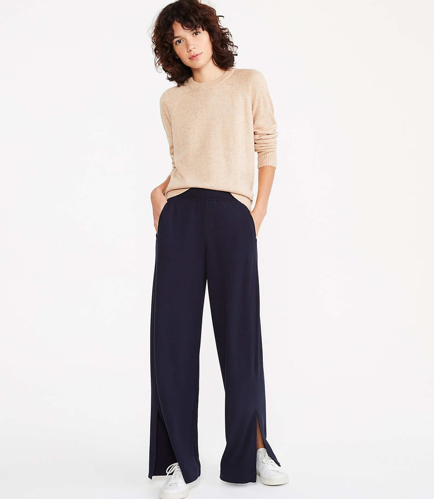 Lou & Grey Signaturesoft Plush Wide Leg Pants