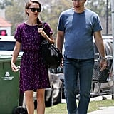 Natalie Portman With Son Aleph Millepied in LA Pictures