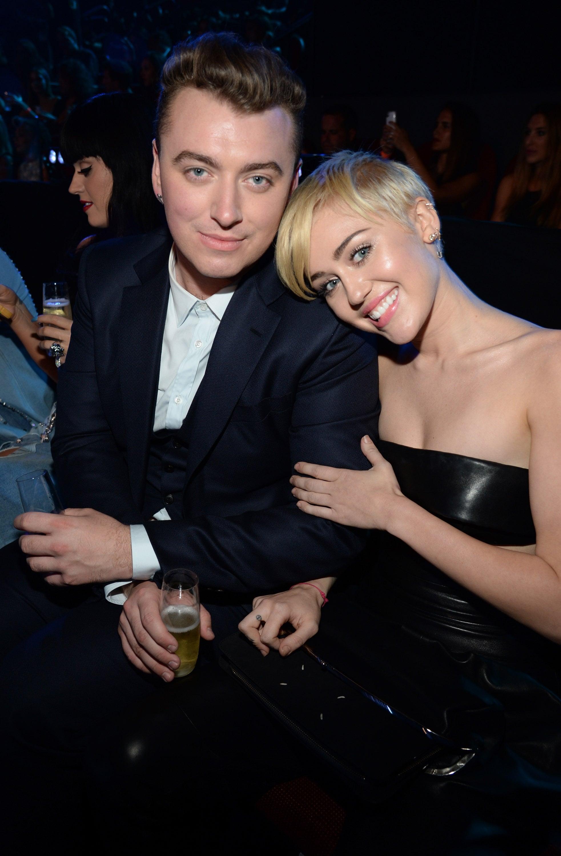 Sam Smith and Miley Cyrus