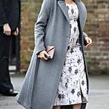 Meghan Markle's Gray Coat 2018