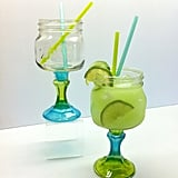 Mason Jar Margarita Glass Set