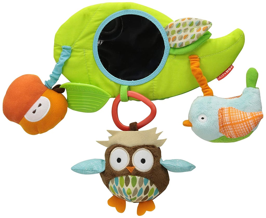 For Infants: Skip Hop Baby Treetop Friends Wise Owl Stroller Bar Activity Toy