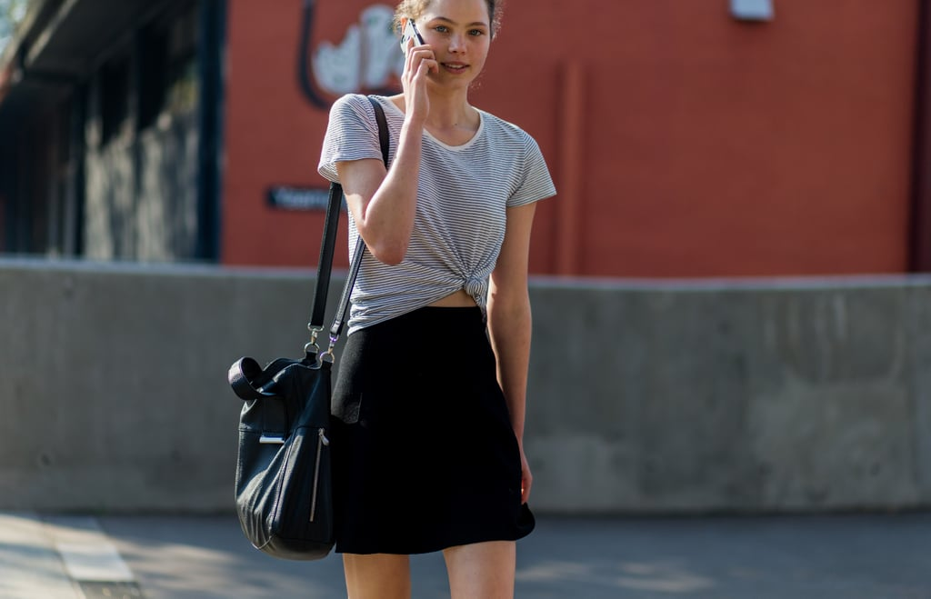 Model Street Style Pictures At Australian Fashion Week