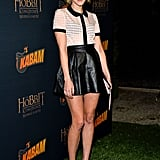 Jena Malone at the launch party for The Hobbit: The Desolation of Smaug's video game expansion pack in West Hollywood.