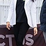 Meghan Markle Wearing Illesteva Sunglasses October 2018