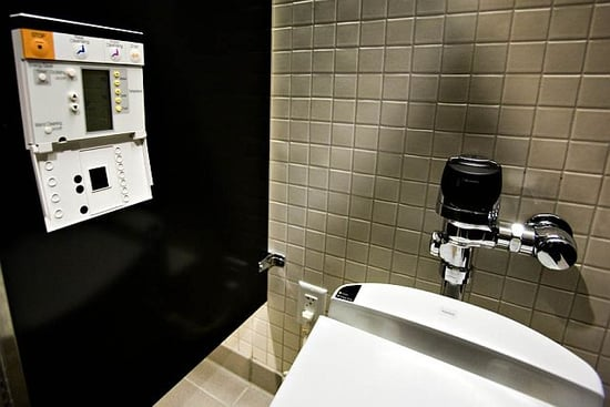 Google's Toilets Are High-Tech and Luxurious