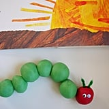 Play-Dough Caterpillar