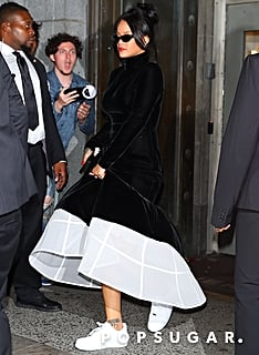 Hi Fashion, This Is Your New Boss, Rihanna — the One in a Ballgown and Nike Sneakers