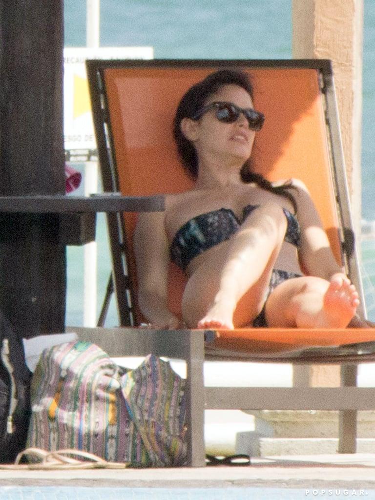 Pregnant Rachel Bilson Brings Out Her Bikini