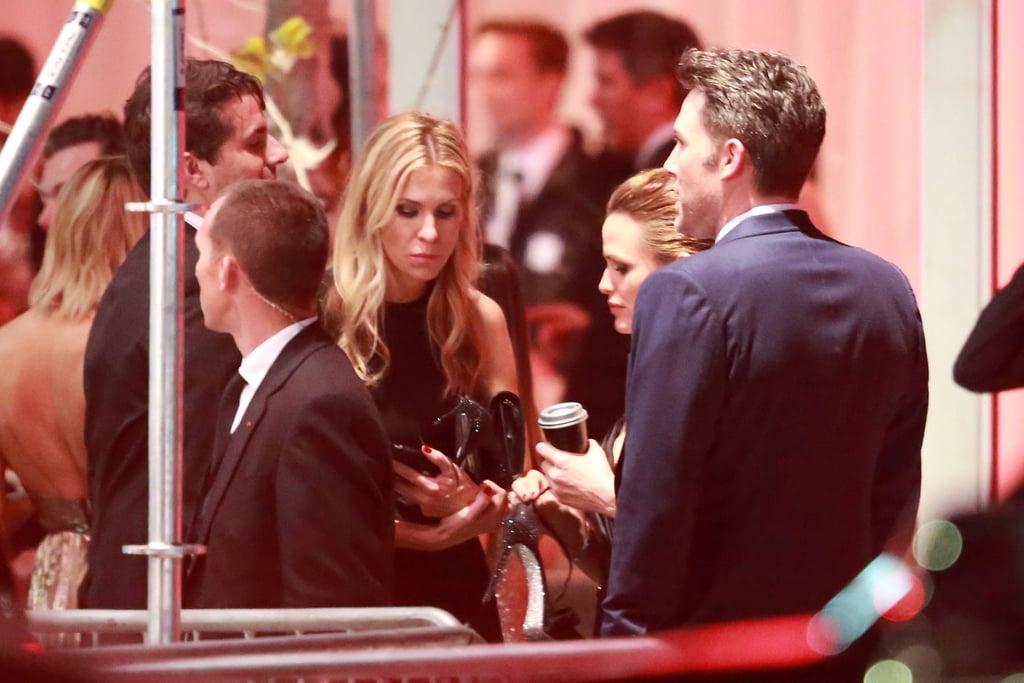 Jennifer Garner and Ben Affleck Together After Oscars 2016
