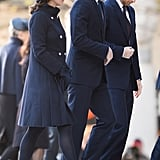 Kate Middleton Wore an Elegant Navy Coat For the Grenfell Tower Memorial Service
