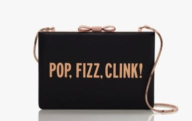 This Kate Spade All That Glitters Clutch ($328) practically brings the party with it.  — HW