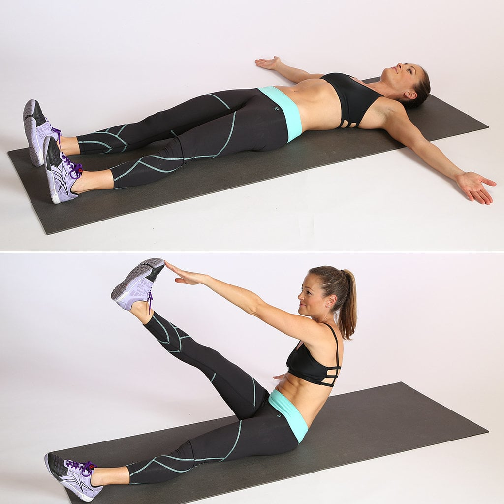 Core: T-Cross Sit-Up