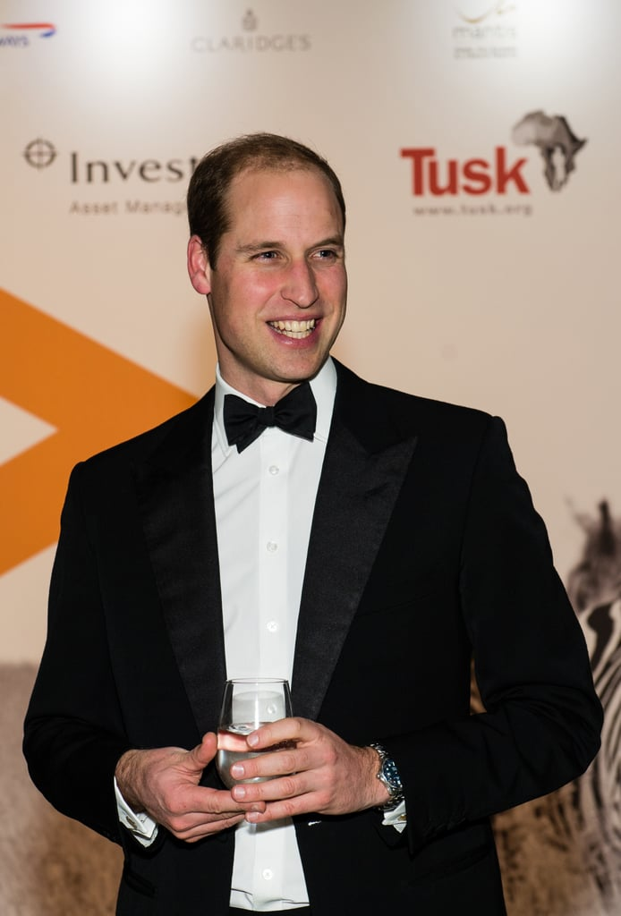 Prince William Attends Tusk Conservation Awards 2015