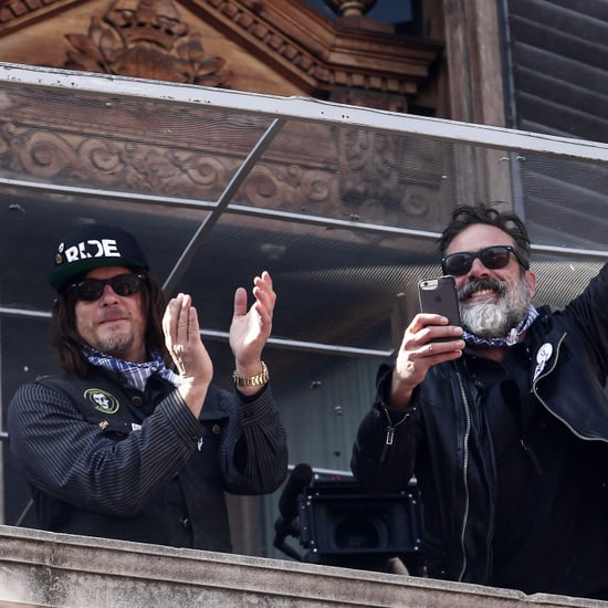 Norman Reedus and Jeffrey Dean Morgan in Spain March 2017